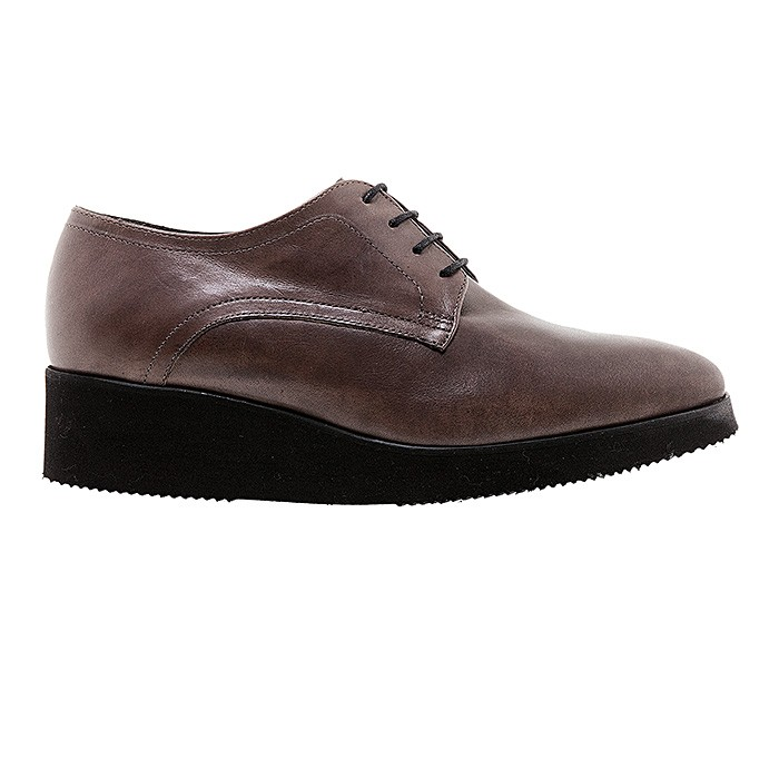 TAUPE ΔΕΤΑ OXFORDS PAOLA FERRI