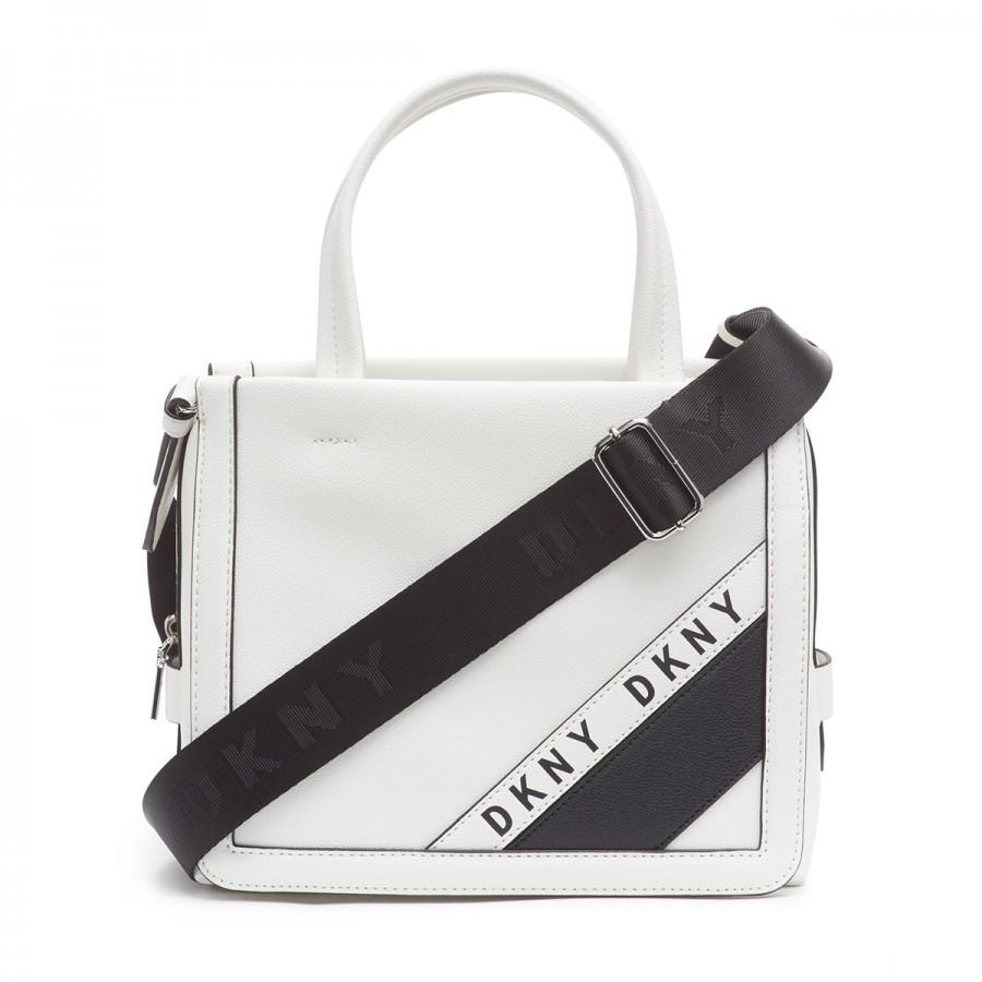 DKNY BOND SMALL WHITE TOTE BAG