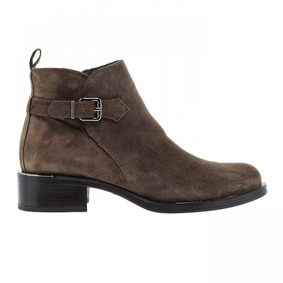 ALPE TAUPE SUEDE ΜΠΟΤΑΚΙΑ