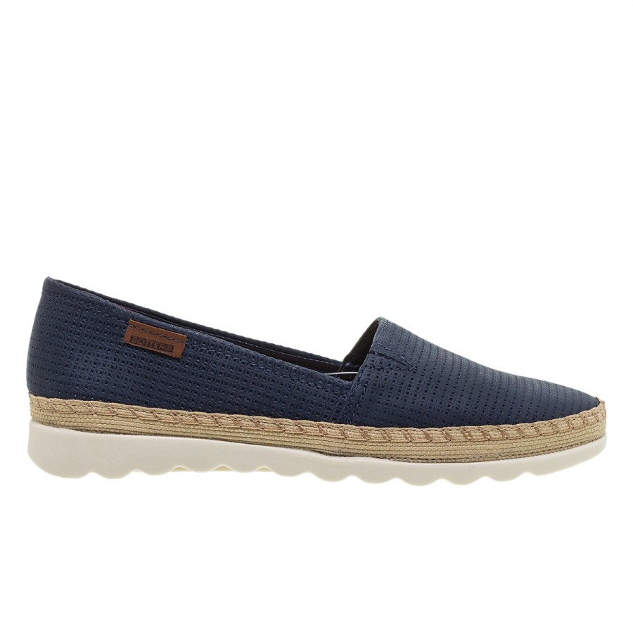 BOTTERO NAVY ΔΕΡΜΑΤΙΝΑ LOAFERS