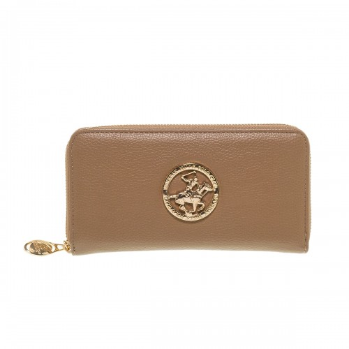 BEVERLY HILLS POLO CLUB TAUPE ECO LEATHER ΠΟΡΤΟΦΟΛΙ