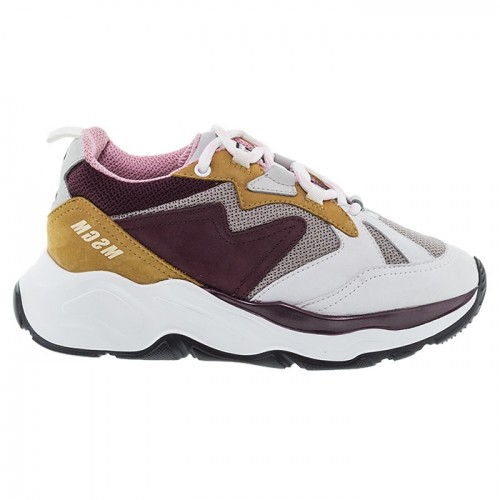 WINE SUEDE ΔΕΤΑ SNEAKERS MSGM