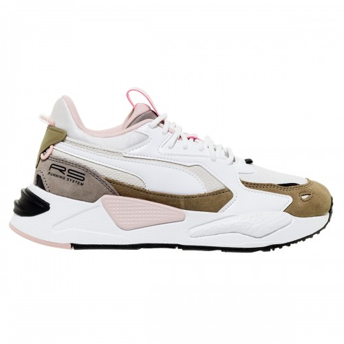 PUMA RS-Z REINVENT WHITE-LOTUS SNEAKERS
