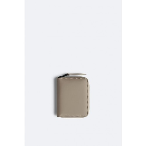RAINS TAUPE SMALL WALLET
