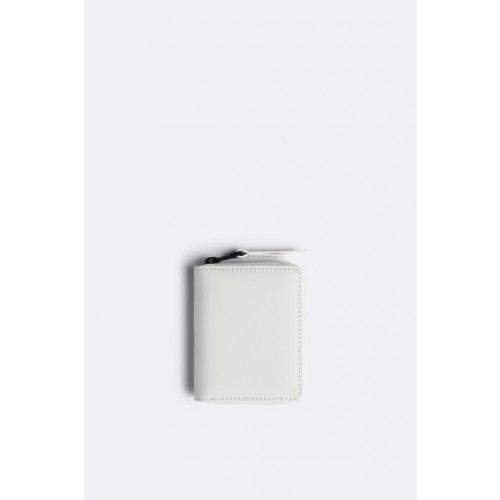 RAINS OFF WHITE SMALL WALLET