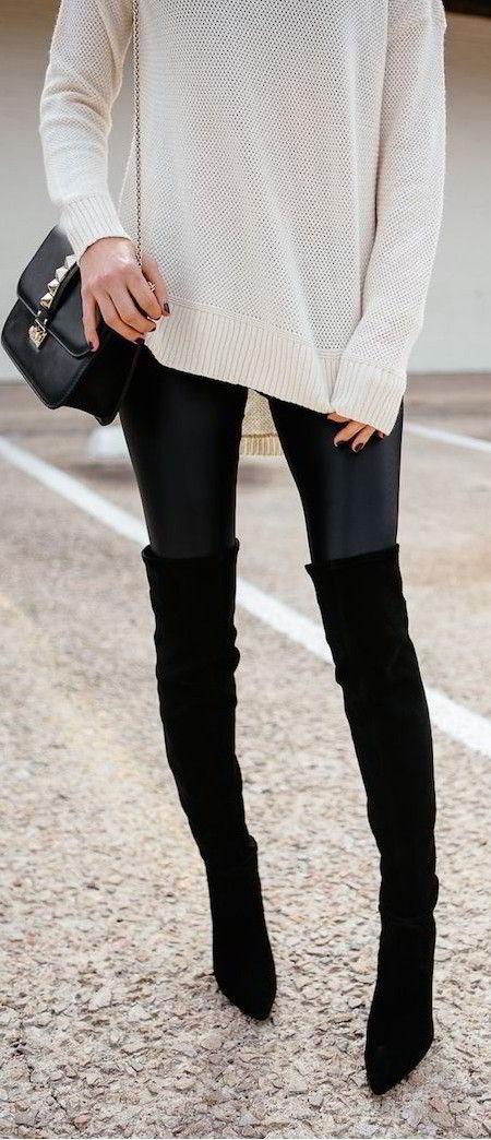 ad75526792ed Η Μourtzi σου προσφέρει τεράστια γκάμα σε μπότες πάνω από το γόνατο για να  σε βοηθήσει να ολοκληρώσεις οποιοδήποτε στυλ θέλεις να δημιουργήσεις!