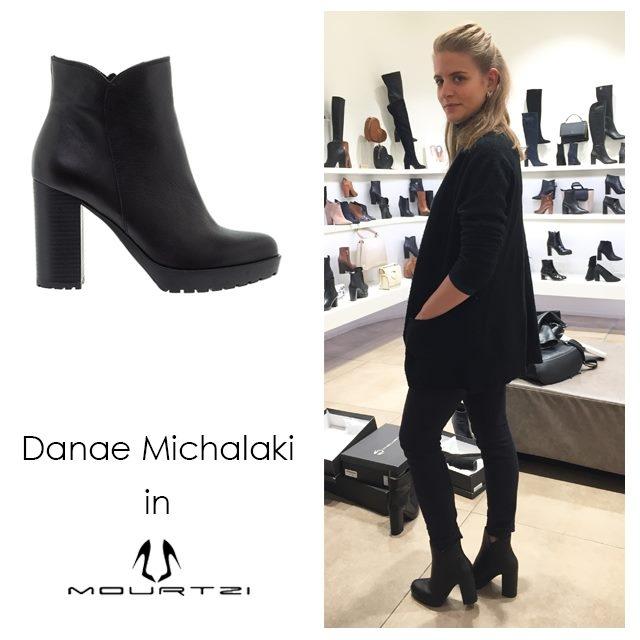 Μαύρα ankle-boots: Φόρεσε τα όπως η Δανάη Μιχαλάκη!