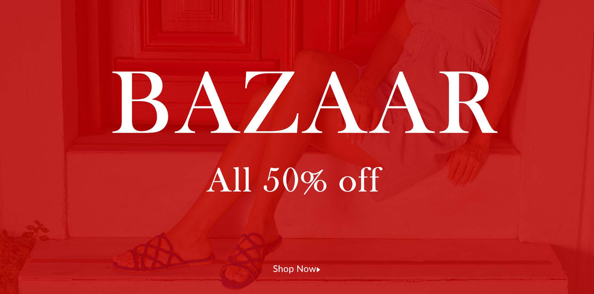 Bazaar MOURTZI all 50% off